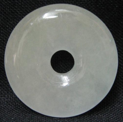 White jade circle chinese jade pendant mozeypictures Choice Image