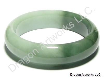 bangle bangles grade green translucent bracelet icy a jade burmese chinese