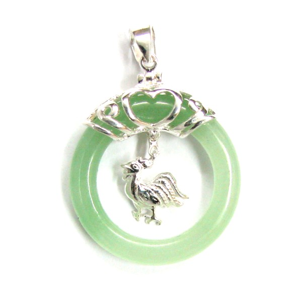 jade nature natural silver pendant nephrite products necklace jewelry
